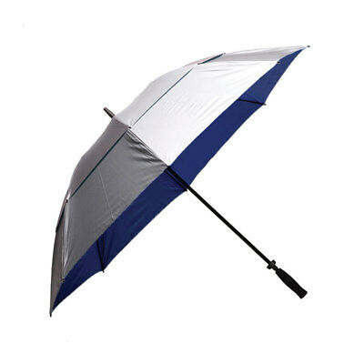 Clifton Windpro Manual Windproof Vented Silver Coated Navy Umbrella
