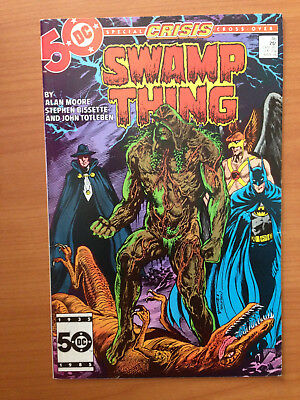 Swamp Thing 46 Alan Moore, Crisis Infinite Earth's Crossover Justice League Dark