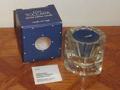 Avon Toccara Special Edition Candle (1982-83), MIB