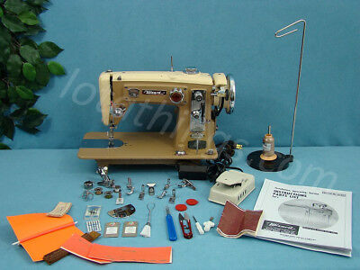 Industrial Strength Heavy Duty Sewing Machine Sews Leather & Upholstery 1.5 Amps