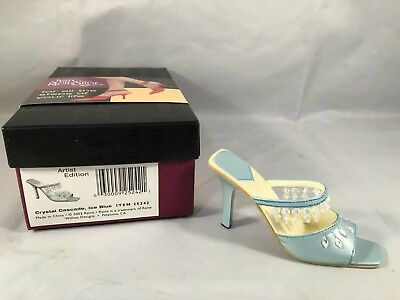 Just the Right Shoe Crystal Cascade Ice Blue Artist Edition 25242 Raine