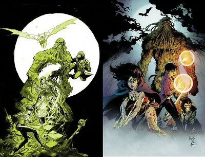 Justice League Dark 4 Set Foil Cover and Capullo Variant Pre-Sale 10/17/18