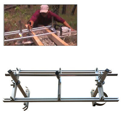 "Fit 14"" - 24"" Chainsaw Guide bar Chain Saw Mill Log Planking Lumber Cutting AU"