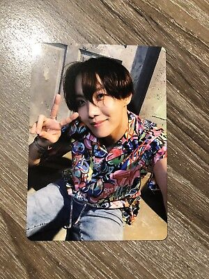 Bts Official J-Hope Hoseok Photo Card Light Stick Army Bomb Ver.3