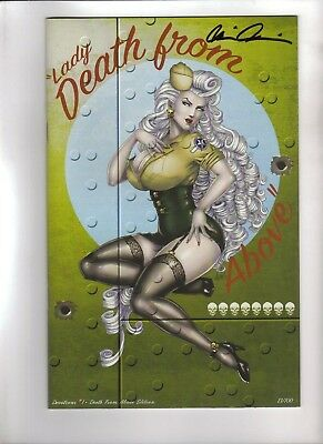 Lady Death: Devotions #1 - Death From Above Edition, Harrigan Cover, Nm+ #13/100