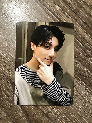 Bts Official Jungkook Photo Card Light Stick Army Bomb Ver.3