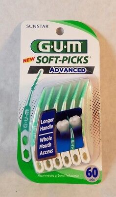 GUM Soft-Picks Advanced 60 picks