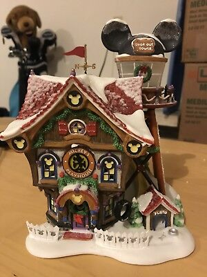 Department 56 Disney Showcase Collection Mickey's North Pole Holiday House
