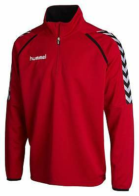 Hummel Stay Authentic Poly Sweat Pullover rot Kinder NEU 48808
