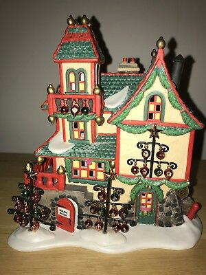 Dept 56 Collectible North Pole Village Glass Ornament Works 56396