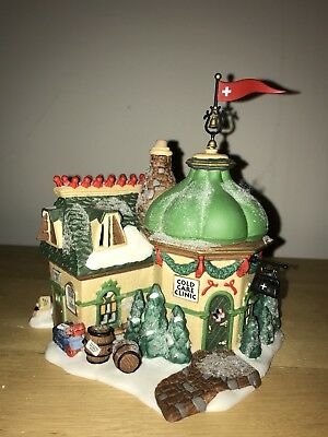Dept 56 North Pole Series Elfland Cold Care Clinic Buildling
