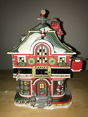 Department 56 North Pole Series Santa's Tailor Shop - Retired