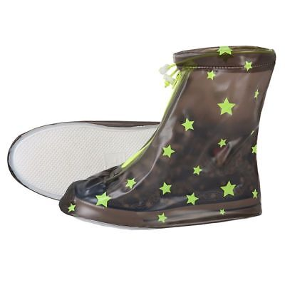 Non-Slip Rain Covers For Kids Waterproof Raincoat Outdoor Travel Shoes Cover New