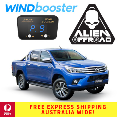 Windbooster Stealth 5-Mode Throttle Controller to suit Toyota Hilux 2015 Onwards