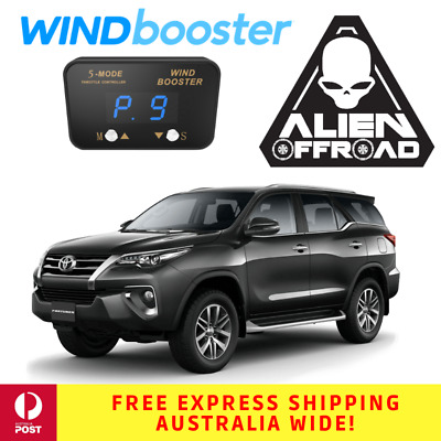 Windbooster Stealth 5-Mode Throttle Controller to suit Toyota Fortuner 2015+