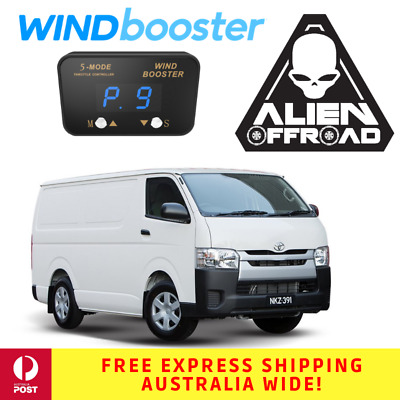 Windbooster Stealth 5-Mode Throttle Controller for Toyota Hiace van 2006+