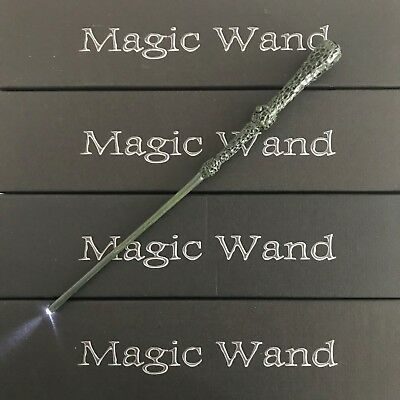 Harry Potter Hogwarts Dumbledore Magic Wand Wizard  w/ LED Cosplay Costume