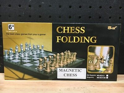 Chess Folding Magnetic Chess Shiy - New
