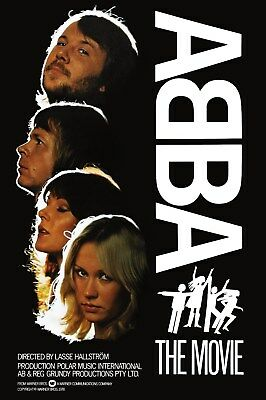 "ABBA ""The Movie"" Stand-Up Display - Gift Idea Memorabilia Posters Celebrities"
