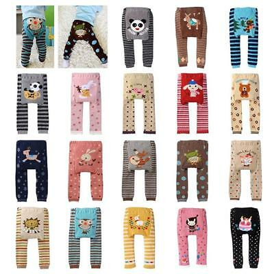 For Cute Baby Cartoon Printed Toddler Boys Girls PP Pants Clothes ! BC
