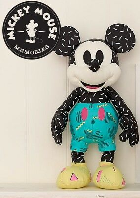 🇬🇧 UK Disney Store SEPTEMBER Mickey Mouse Memories Plush Cuddly Soft Toy 🇬🇧