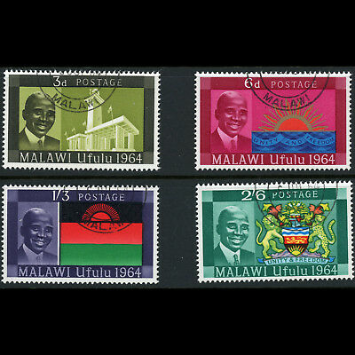 MALAWI 1964 Independence. SG 211-214. Fine Used. (AB787A)