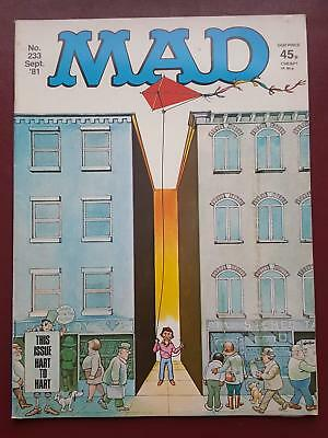 Mad Magazine No.233 - Sept 1981 - UK Edition  - Hart to Hart  #B3176