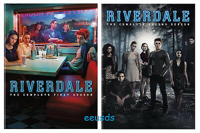 Riverdale: The Complete Series Season 1-2 (DVD, 2018, 7-Disc Box Set) New Sealed