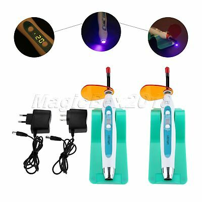 1200-2000mw/cm² LED Curing Light Dental Wired & Wireless 5W Dentist Cure Lamp
