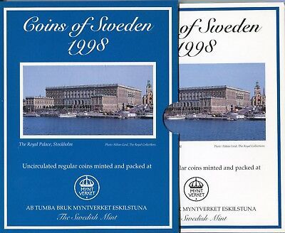 "Schweden , Coins of Sweden 1998 , ""Royal Palace Stockholm"" (16650)"