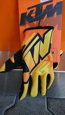 KTM Gravity-FX Gloves Orange L/10