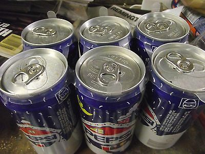 PEPSI Collectible 6 Pack..Xmas Cans (empty). Pull Tabs unopened!