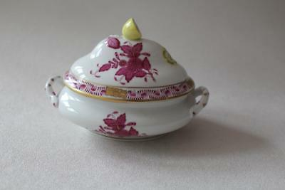 Herend Hungary hand painted miniature lidded Tureen