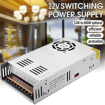 DC 12V LED Driver Switching Power Supply Transformer for Strip CCTV 12W-600W