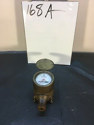 "Sensus SRII 5/8"" Brass Water Meter Used - Includes Cover, Readable Face"