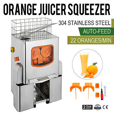 Commercial Lemon Squeezer Orange Citrus Press Juice Automatic Juicer