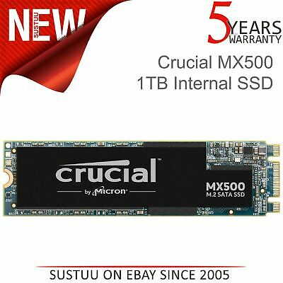 Crucial MX500 1TB M.2 Type 2280 Internal Solid State Drive│3D NAND SATA│CT1000