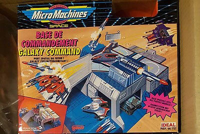 Micro Machines  Galaxy Command  Galaxy Voyagers   Ideal NR:96-727