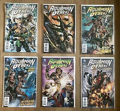 Aquaman and the Others The New 52 #1 - #8 (DC Comics)