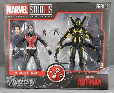"Marvel Legends 6"" MCU Studios the First Ten Years Ant-Man Yellow Jacket New Mint"