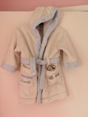 Baby Disney Dressing Gown 6-9 Months