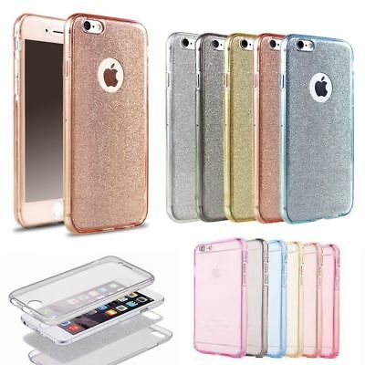 Soft TPU 360° Full-Body Protective Cover Slim Case For iPhone 6s 7 8 Plus XS Max