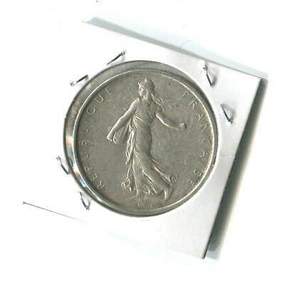 France 1964 5 Francs High grade Silver coin 0.835