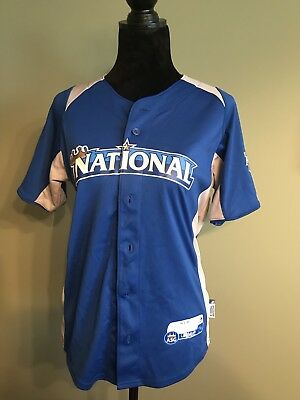 29dd9e3d37a Youth Large 2009 Ryan Braun MLB All-Star Jersey Majestic Cool Base Milwaukee