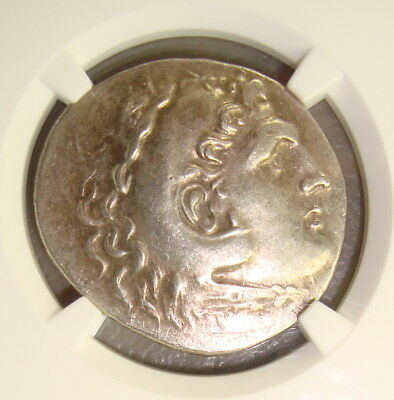 Pamphylia, Aspendus Alexander III the Great Ancient Greek Silver Tetradrachm NGC