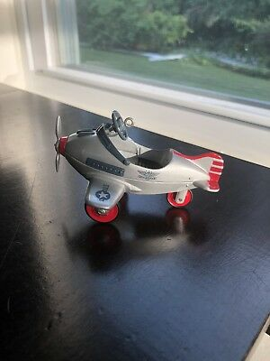 Hallmark Kiddie Car Classics Murray Airplane Plane 1996 Christmas Ornament ~ NEW