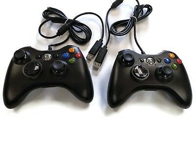 PC USB Wired Controller Set of 2 for PC / MAC / Windows / Laptop / Raspberry Pi