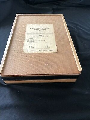 Vtg Stanford Binet Scales Psychology IQ Testing Kit 1937 Original Case