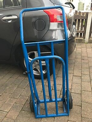 Heavy Duty Large Folding Hand Sack Truck Trolley Industrial Solid Tyres Ht11