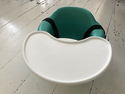 Bumbo Baby Floor Seat Green Teal Boy Girl
